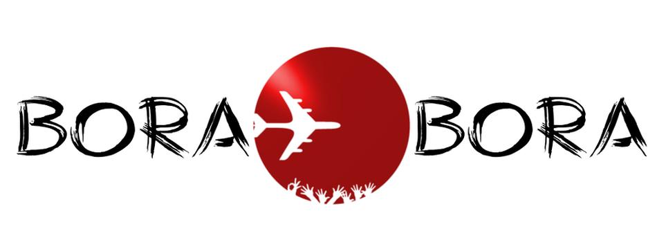 bora logo bora v2 lighter red white back